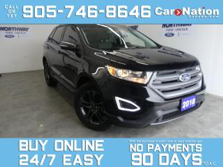 Used 2018 Ford Edge SEL APPEARANCE PKG | PANO ROOF | NAV | ONLY 22 KM! for sale in Brantford, ON