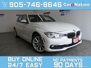 Used 2017 BMW 3 Series 330I | AWD | LEATHER | SUNROOF | NAV | LOW KMS for sale in Brantford, ON