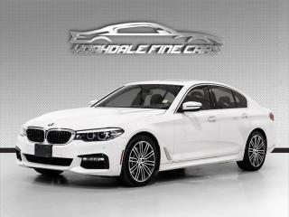 Used 2017 BMW 5 Series 530i xDrive. M Sport, Navi, Cam, Driver Assist, Loaded! for sale in Concord, ON