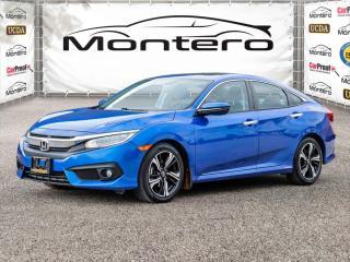 Used 2016 Honda Civic Sedan 4dr CVT Touring for sale in North York, ON