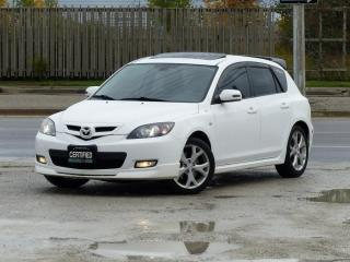 Used 2008 Mazda MAZDA3 HB Sport,GT,LEATHER,FULLY LOADED,CERTIFIED,NO-ACCIDENT for sale in Mississauga, ON