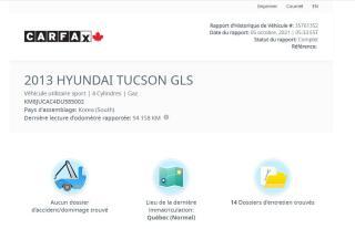 Used 2013 Hyundai Tucson Limited for sale in Saint-Jean-sur-Richelieu, QC
