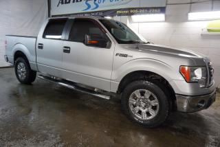 Used 2009 Ford F-150 V8 XLT SUPER CREW PREMUIM CERTIFIED 2YR WARRANTY *FREE ACCIDENT* CRUISE ALLOYS RUNNING BOARDS for sale in Milton, ON