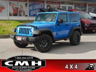 Used 2011 Jeep Wrangler Sport  4X4 2-TOPS FUEL-WHEELS PREM-TIRES for sale in St. Catharines, ON