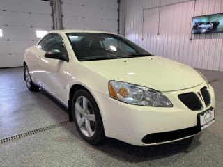 Used 2007 Pontiac G6 GT Convertible #LocalVehicle #Convertible #LowKM for sale in Brandon, MB