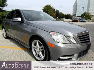 Used 2012 Mercedes-Benz E-Class E350 4MATIC Sedan Accident Free! for sale in Woodbridge, ON