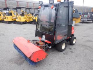 Used 2011 KUBOTA GF 1800 Front Mount Tractor 4x4 Diesel with Rotary Broom for sale in Burnaby, BC