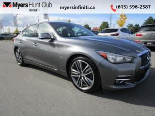 Used 2016 Infiniti Q50 3.0t AWD TECH PKG for sale in Ottawa, ON