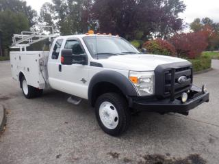 Used 2011 Ford F-450 SD Service Truck 4WD Diesel for sale in Burnaby, BC