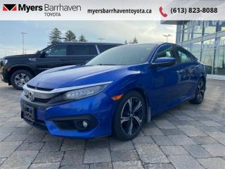 Used 2018 Honda Civic Sedan Touring  - Navigation -  Leather Seats - $139 B/W for sale in Ottawa, ON