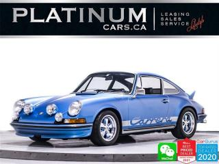 Used 1971 Porsche 911 T RS Tribute, 2.7L, RESTORED, PROTOTIPO STEER. WHEEL for sale in Toronto, ON