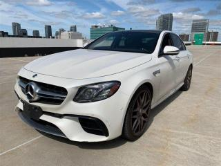 Used 2018 Mercedes-Benz E-Class AMG E63S, 603HP, BITURBO, TRACK PACE, NAV, 360CAM for sale in Toronto, ON