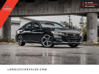 Used 2019 Honda Accord Sedan Sport  Sunroof/ Leather/ Backup/ Push Start/ Accident Free for sale in Surrey, BC