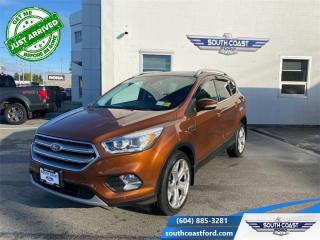 Used 2017 Ford Escape Titanium  - Leather Seats -  Heated Seats - $227 B/W for sale in Sechelt, BC
