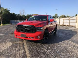 Used 2018 Dodge Ram 1500 SPORT CREW 4WD for sale in Cayuga, ON