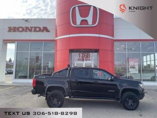 New 2019 Chevrolet Colorado 4WD ZR2 l Leather l Heated/Cooled Seats for sale in Moose Jaw, SK