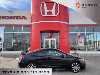 Used 2015 Honda Civic coupe si for sale in Moose Jaw, SK