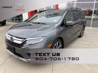 Used 2019 Honda Odyssey Touring for sale in Langley, BC