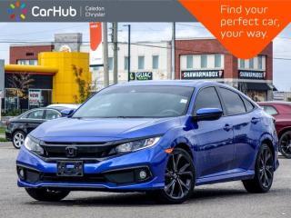 Used 2020 Honda Civic Sedan Sport Sunroof Backup Camera Bluetooth Remote Start Heated Front Seats 18