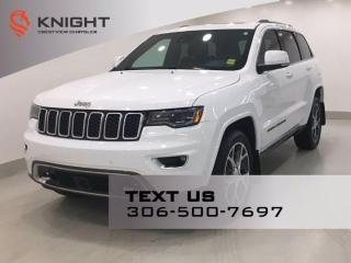 Used 2018 Jeep Grand Cherokee Sterling Edition | Leather | Sunroof | Navigation | for sale in Regina, SK