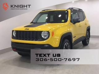 Used 2016 Jeep Renegade Trailhawk 4x4 for sale in Regina, SK