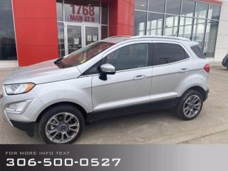 Used 2020 Ford EcoSport Titanium for sale in Moose Jaw, SK