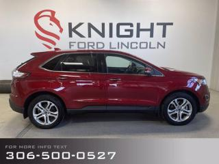 Used 2018 Ford Edge Titanium for sale in Moose Jaw, SK
