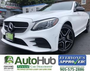 Used 2019 Mercedes-Benz C-Class C300 4MATIC/Turbo/Premium/Premium Plus/Sport/LED Lights/AMG package! for sale in Hamilton, ON
