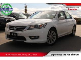 Used 2015 Honda Accord EX-L Leather Sunroof Backup Camera Heated Seats for sale in Whitby, ON