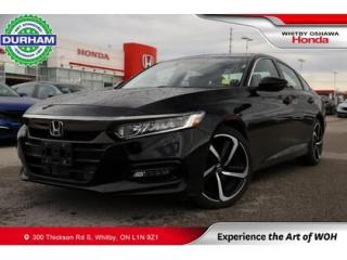 Used 2018 Honda Accord Sport Manual Sunroof Backup Camera Heated Seats for sale in Whitby, ON