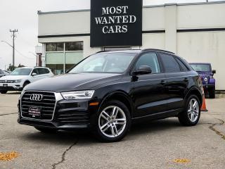 Used 2018 Audi Q3 QUATTRO | PROGRESSIV | NAV | CAMERA | PANO ROOF for sale in Kitchener, ON