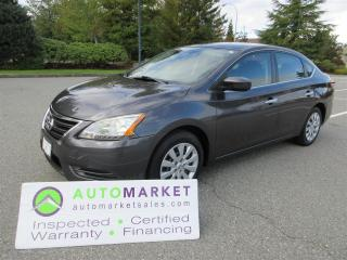 Used 2013 Nissan Sentra SV, AUTO, INSP, WARRANTY, FINANCE SPECIALISTS! for sale in Surrey, BC