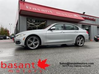 Used 2017 BMW 3 Series Sport Pkg, Backup Cam, Low KMS, Heated Seats!! for sale in Surrey, BC