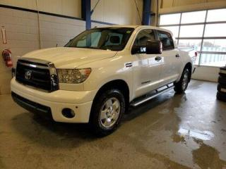 Used 2013 Toyota Tundra 4WD Crewmax 146  5.7L SR5 for sale in Moose Jaw, SK