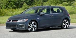 Used 2021 Volkswagen Golf GTI AUTOBAHN w/ NAVI / LEATHER /  6 SPEED for sale in Calgary, AB