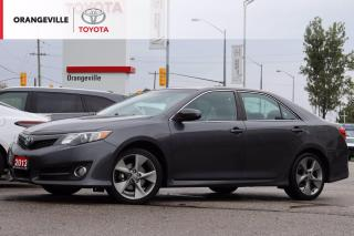 Used 2013 Toyota Camry SE, NAVIGATION, BLUETOOTH, SATELLITE RADIO, BACK-UP CAMERA, ALLOY WHEELS, CLEAN CARFAX for sale in Orangeville, ON