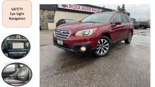 Used 2016 Subaru Outback AUTO EYE SIGHT w/Limited Pkg NAVIGATION LEATHER SU for sale in Oakville, ON