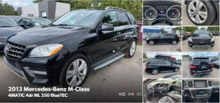 Used 2013 Mercedes-Benz M-Class ML 350 BlueTEC for sale in Toronto, ON