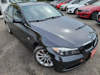 Used 2006 BMW 3 Series 330i/AUTO/LEATHER/ROOF/P.SEATS/LOADED/ALLOYS for sale in Scarborough, ON