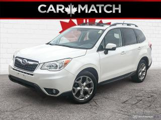 Used 2015 Subaru Forester I LIMITED / NAV / LEATHER / ROOF / 64,082 KM for sale in Cambridge, ON