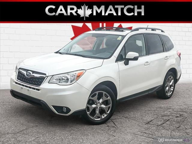 2015 Subaru Forester I LIMITED / NAV / LEATHER / ROOF / 64,082 KM