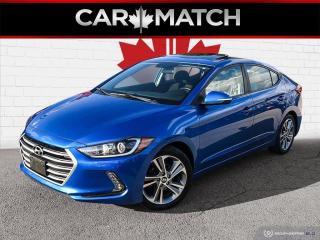 Used 2017 Hyundai Elantra GLS / SUNROOF / AUTO / 74,338 KM for sale in Cambridge, ON