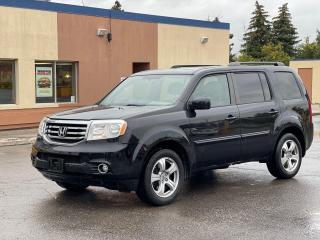 Used 2014 Honda Pilot EX-L AWD LEATHER/SUNROOF/CAMERA/8 PASS for sale in North York, ON