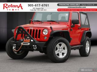 Used 2015 Jeep Wrangler SPORT_ACCIDENT FREE_ONTARIO_VEHICLE for sale in Oakville, ON