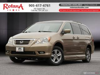 Used 2010 Honda Odyssey TOURING_HANDICAP WHEELCHAIR RAMP ACCESSIBLE for sale in Oakville, ON