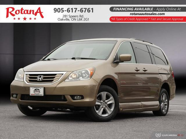 2010 Honda Odyssey TOURING_HANDICAP WHEELCHAIR RAMP ACCESSIBLE