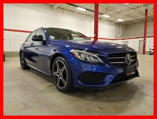 Used 2018 Mercedes-Benz C-Class C300 4MATIC DISTRONIC NIGHT PREMIUM PLUS ACTIVE LED for sale in Vaughan, ON