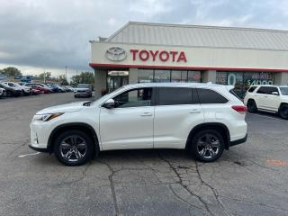 Used 2018 Toyota Highlander LIMITED  for sale in Cambridge, ON