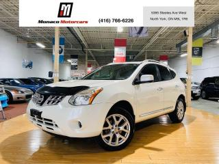 Used 2012 Nissan Rogue SL AWD - NAVIGATION |360CAM |SUNROOF |LEATHER for sale in North York, ON