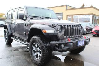 Used 2020 Jeep Wrangler RUBICON for sale in Brampton, ON